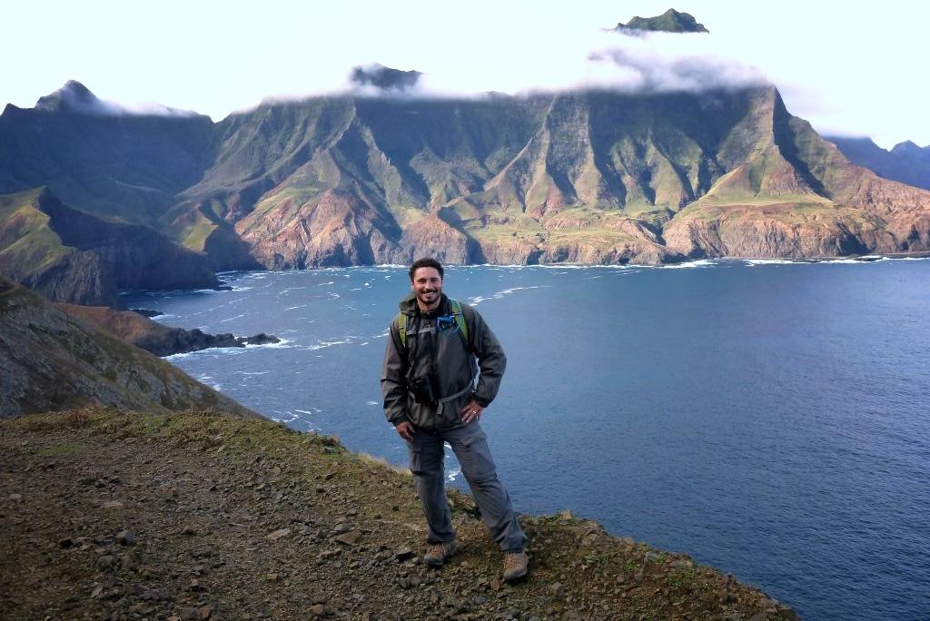 Island Conservation Million dollar mouse staff Jose Luis Herrera
