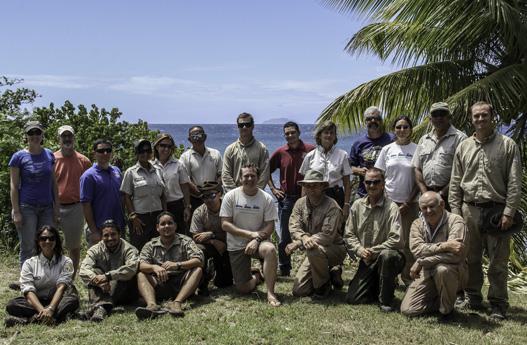 Island conservation desecheo caribbean puerto rico