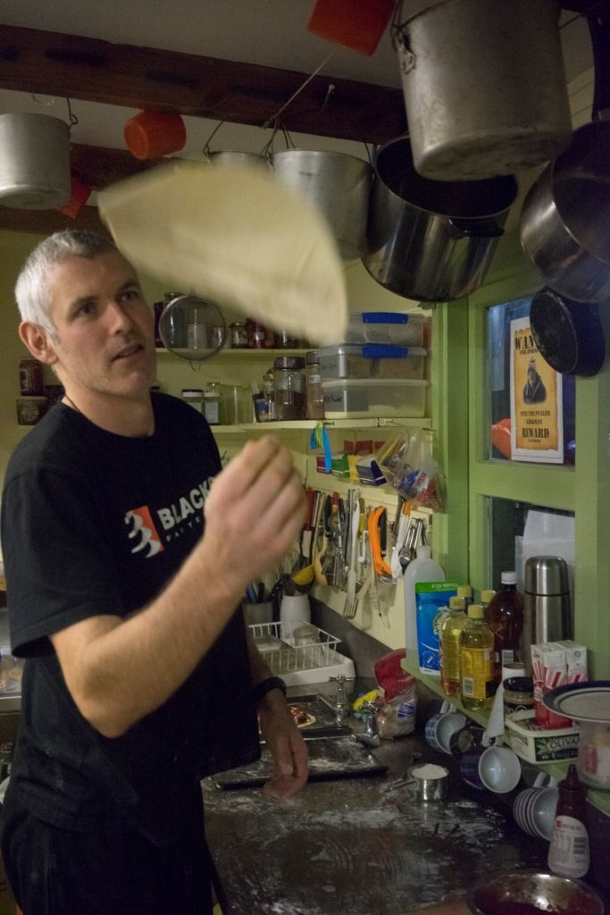 Island Conservation MDM Chef spinning dough