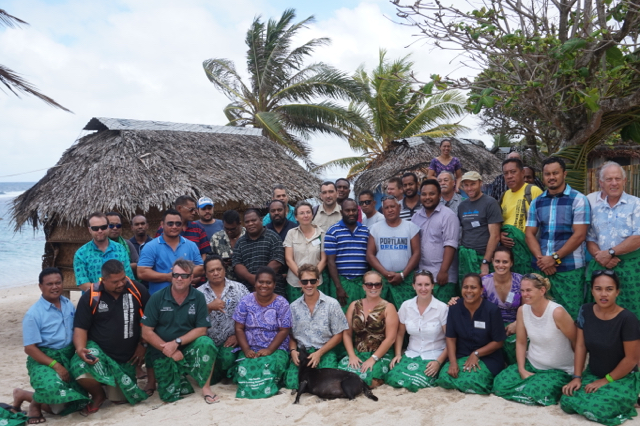 island conservation participants at PILN