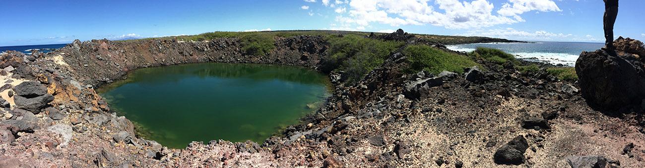 island conservation Kaho'olawe panorama
