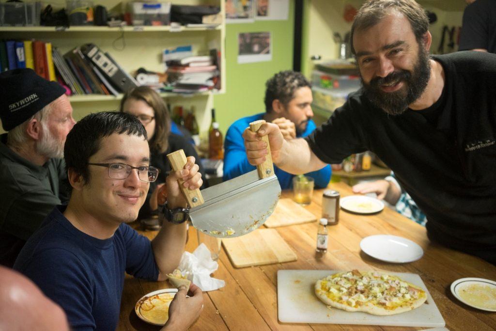 Island Conservation Jason Zito at Pizza NIght