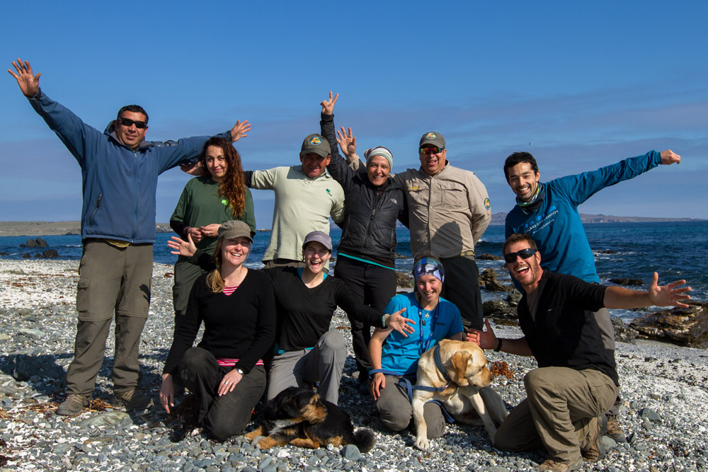 island conservation science choros team