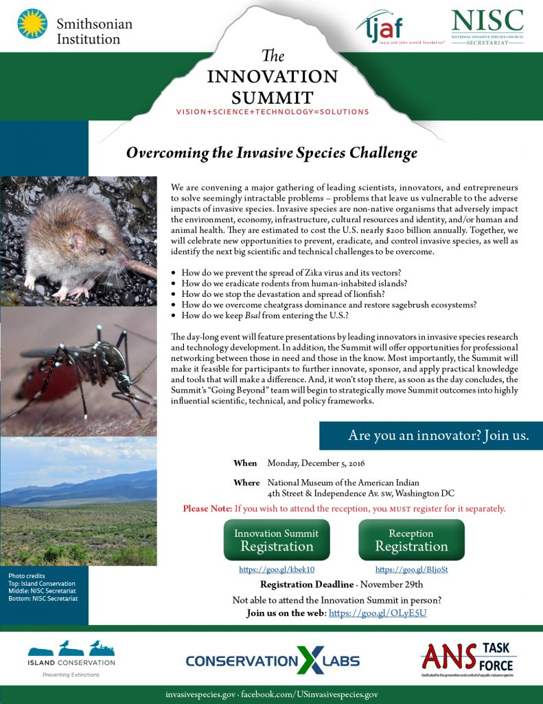 island conservation innovation summit