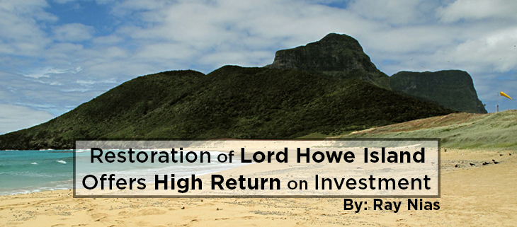 island conservation lord howe island restoration