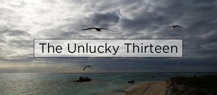 island conservation unlucky thirteen