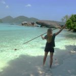 island conservation julia dunn spear fishing