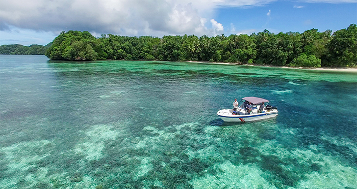 Island conservation drones Palau
