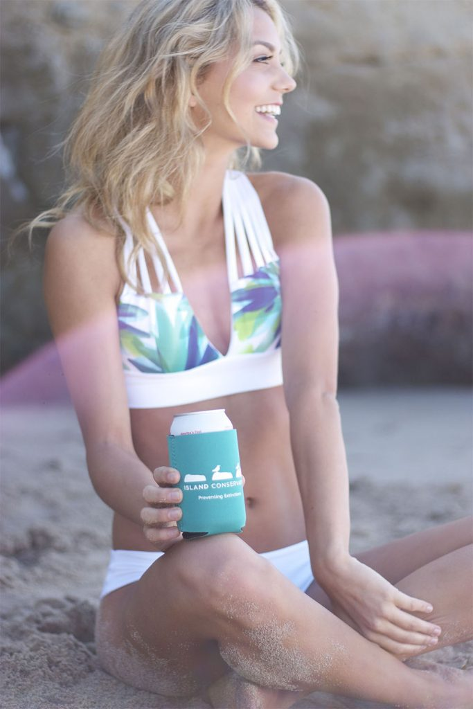 island conservation preventing extinctions pelican house bikini coozie