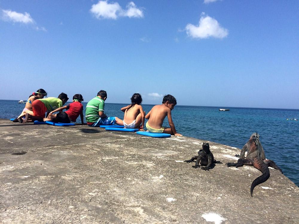 island conservation children Galápagos
