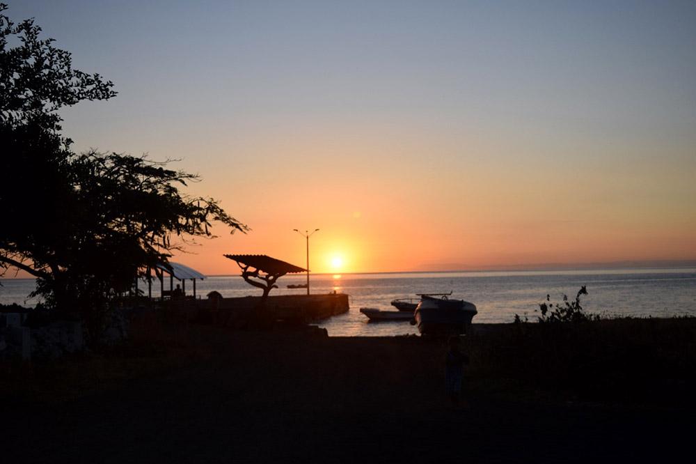 island conservation Galápagos sunset