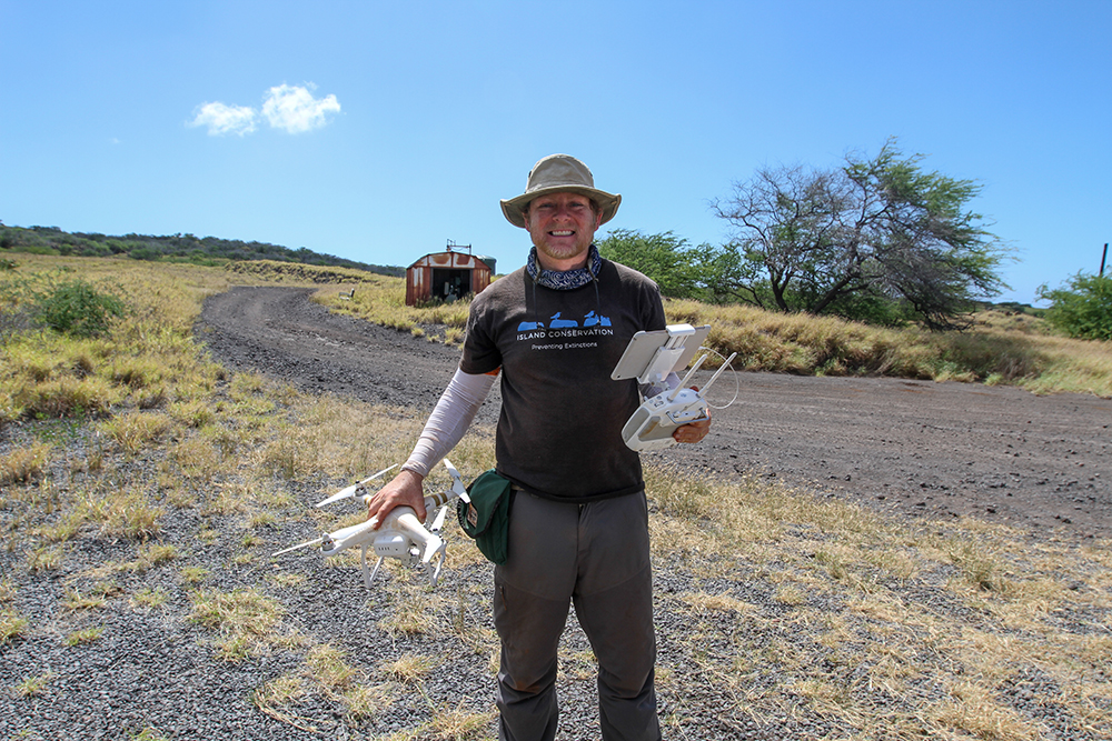 island-conservation-preventing-extinctions-Dave-with-Drone