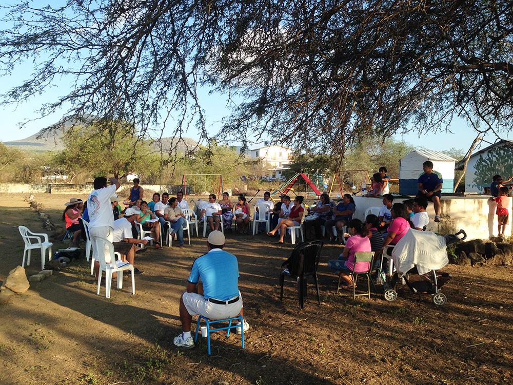 floreana island conservation community