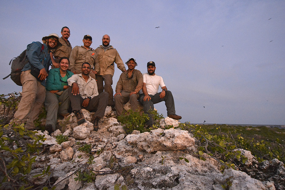 island-conservation-monito-island-field-team