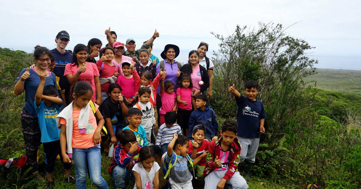 island-conservation-invasive-species-preventing-extinctions-Floreana-children-isabela-education-outreach-feat