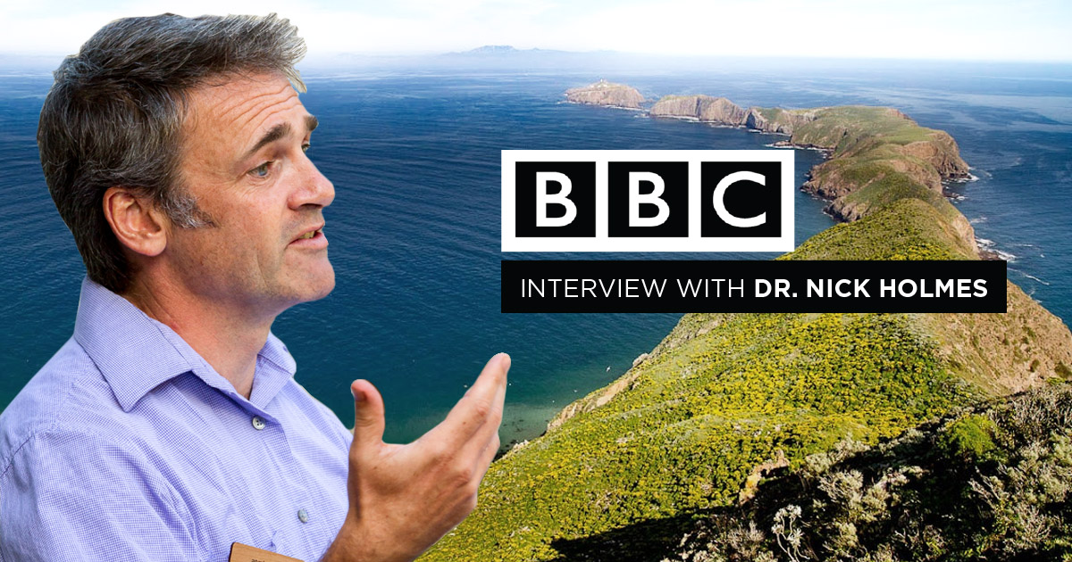 nick holmes island conservation science bbc interview